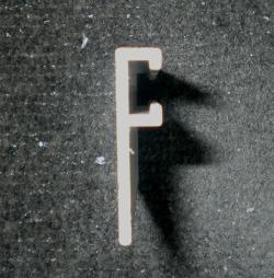 Flat f-track
