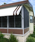 Clamshell Awnings