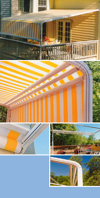 Retractable Awnings - Awning, Patio Covers, Window Awnings ...