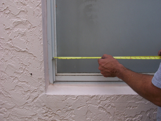 How To Measure Your Windows For Hurricane Shutters And