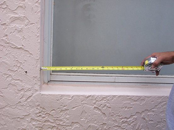 Correct way to Measure Your Window