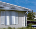 Fort Edward Storm Panels - Aluminum and Clear