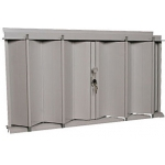 "26.5"" x 46.25"" Accordion Hurricane Shutter for Residential"